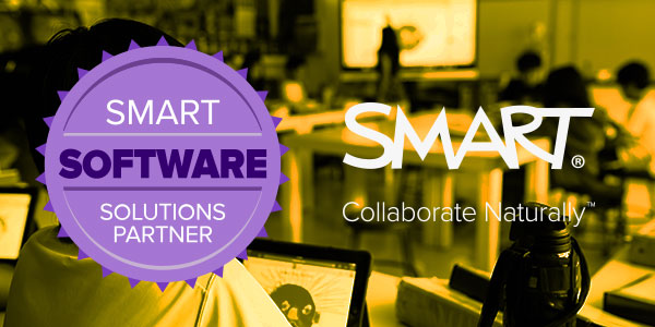 SMART SOFTWARE SOLUTIONS PARTNER. SMART Collaborate Naturally